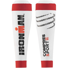 Compressport R2V2 Calf Sleeves Ironman Edition White